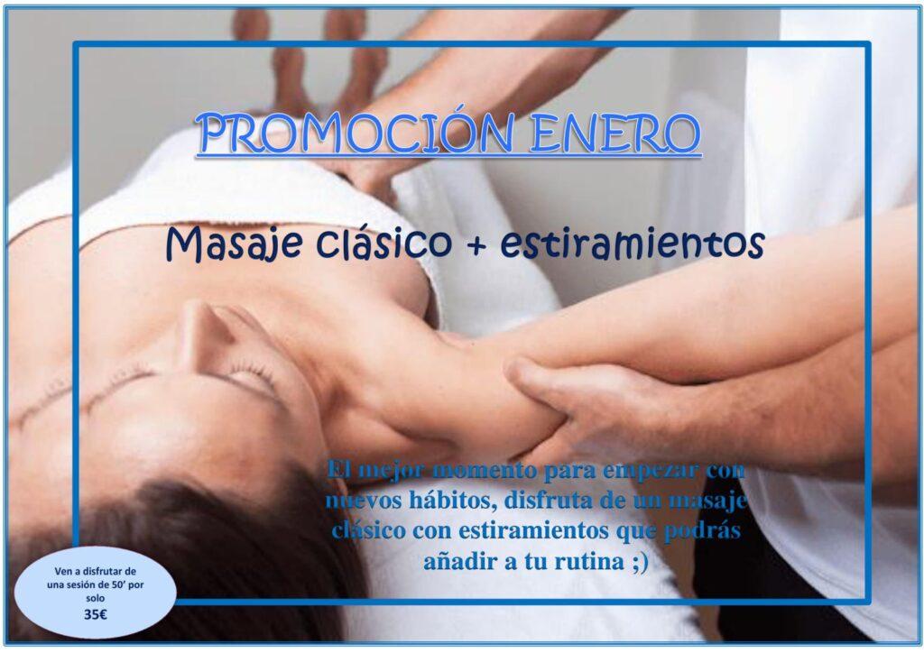 Soulmassage Promociones Enero 2021
